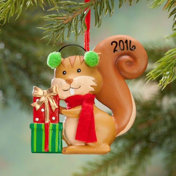 Woodland Squirrel Ornament