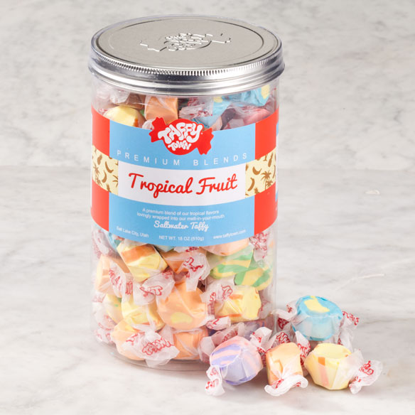 Taffy Town® Tropical Fruit Taffy Canister