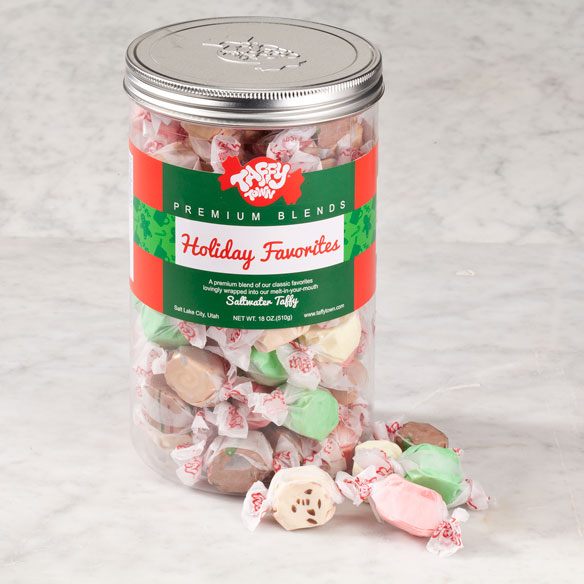 Taffy Town® Holiday Favorites Taffy Canister