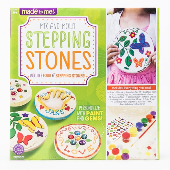 Mix and Mold Stepping Stones Kit - View 1