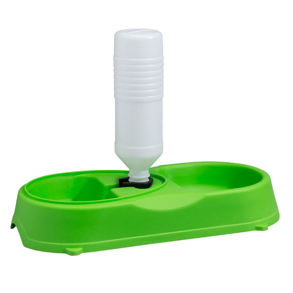 Pet Feeder with Water Refilling