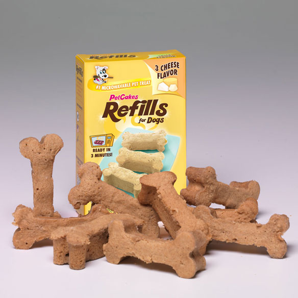 PetCakes™ Refills for Dogs, 3 Cheese Flavor