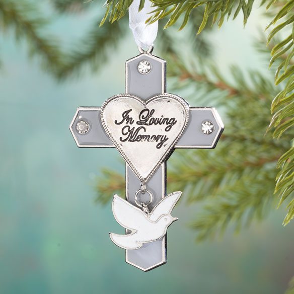 """In Loving Memory"" Cross Ornament"