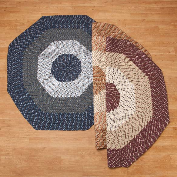 Braided Octagon Accent Rug