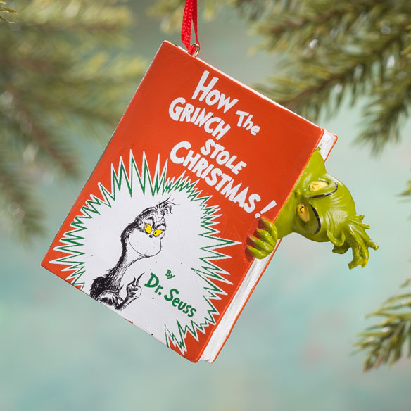 """How the Grinch Stole Christmas!"" Ornament"