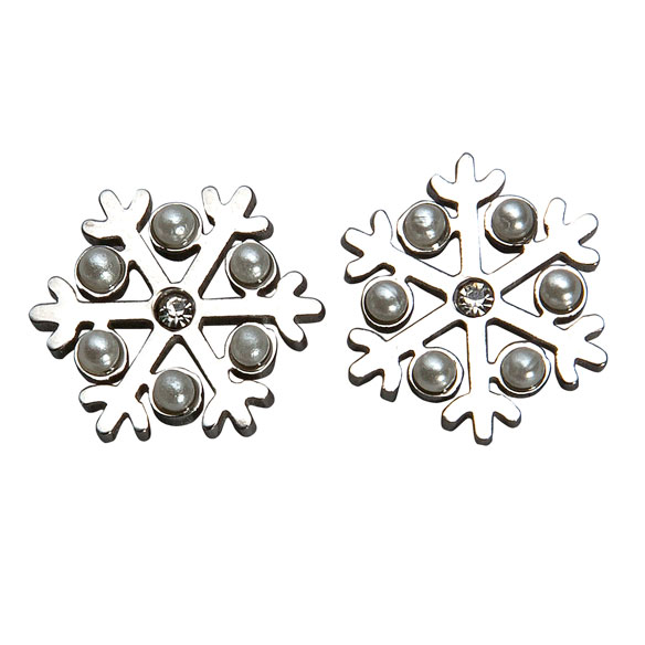 Snowflake Earrings - View 1