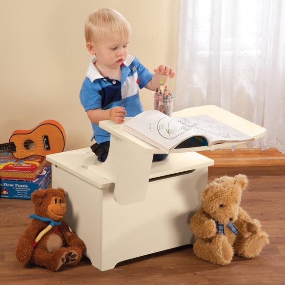 Customize Your Own Children's Toy Box and Desk