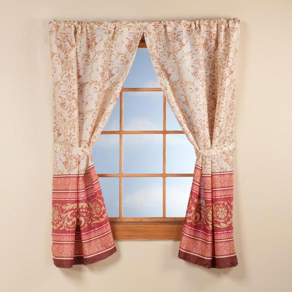 Victorian Window Curtains