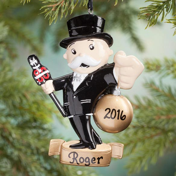 Personalized Monopoly® Ornament