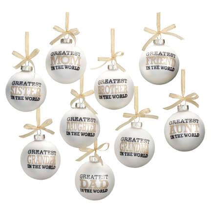 Christmas Ornaments - Miles Kimball