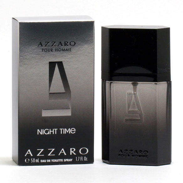 Azzaro Pour Homme Night Time Men, EDT Spray