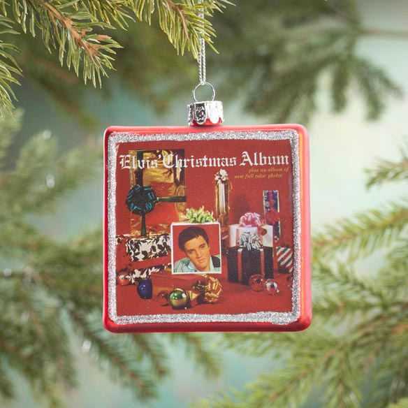 Elvis Presley™ Christmas Album Ornament
