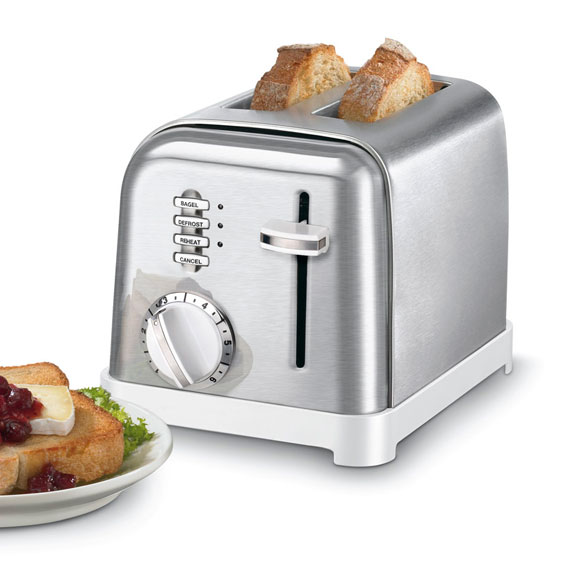 Cuisinart® Metal Classic Two-Slice Toaster - View 1