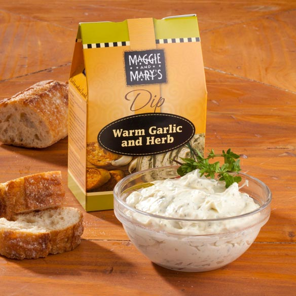 Maggie and Mary's Warm Garlic and Herb Dip Mix