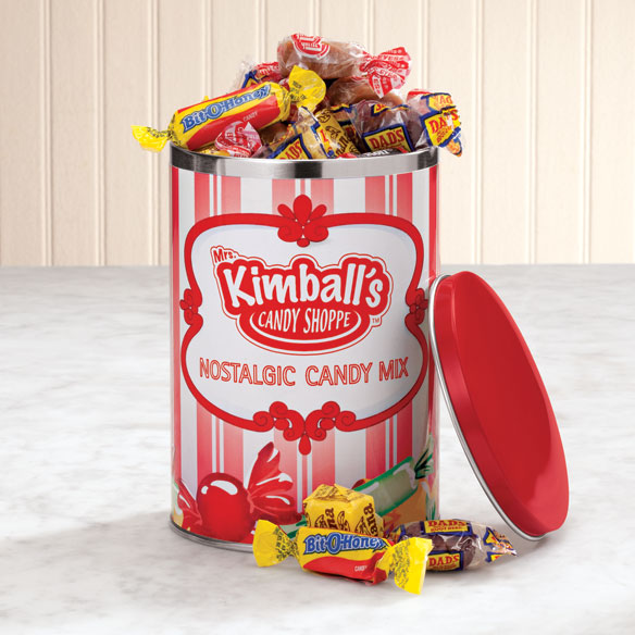 Mrs. Kimball's Candy Shoppe Nostalgic Candy Mix Keepsake Tin