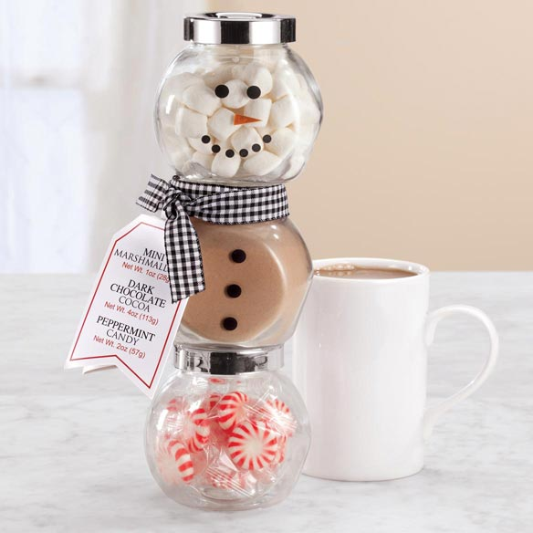 Snowman Hot Cocoa Kit - View 1