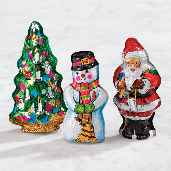 Madelaine® Christmas Chocolates, Set of 3