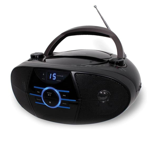 Jensen® Portable Stereo CD Player with AM/FM Radio