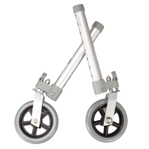 "Swivel Walker Wheels, 5"", Set of 2"