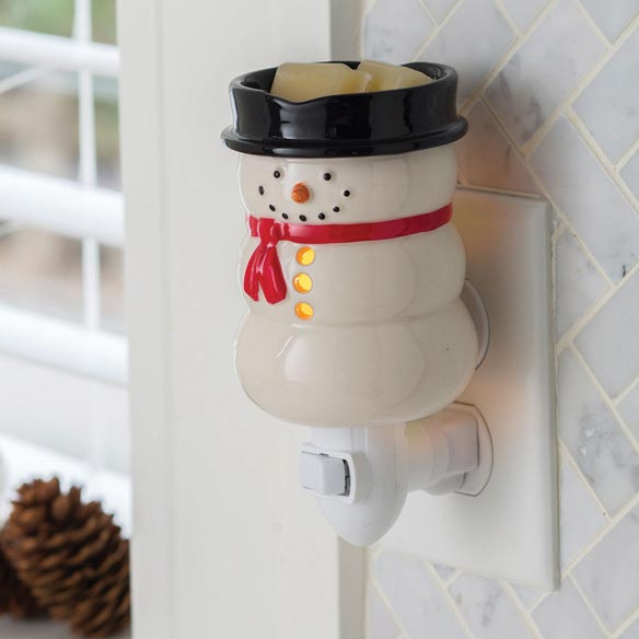 Snowman Pluggable Fragrance Warmer