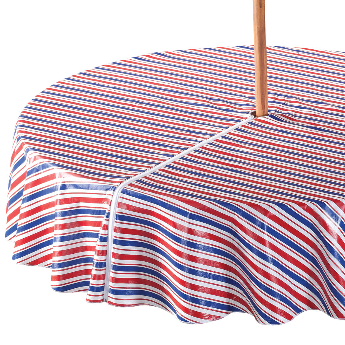 Patriotic Zippered Umbrella Table Cover Outdoor Covers Miles Kimball
