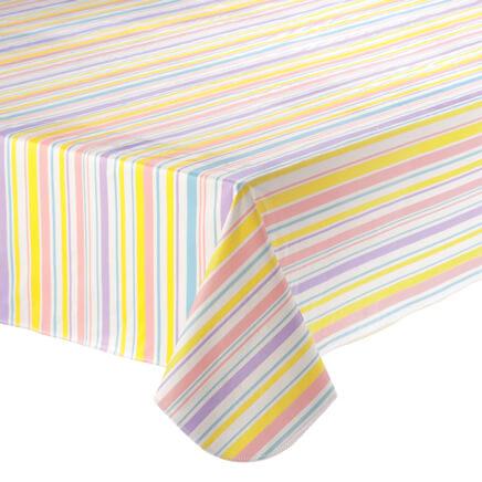 easter stripe vinyl table cover358530
