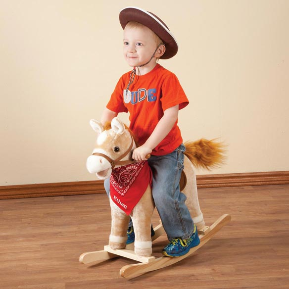 Personalized Rocking Horse With Sound