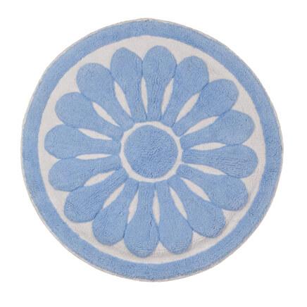 Round Floral Bath Rug By OakRidge™ 359216