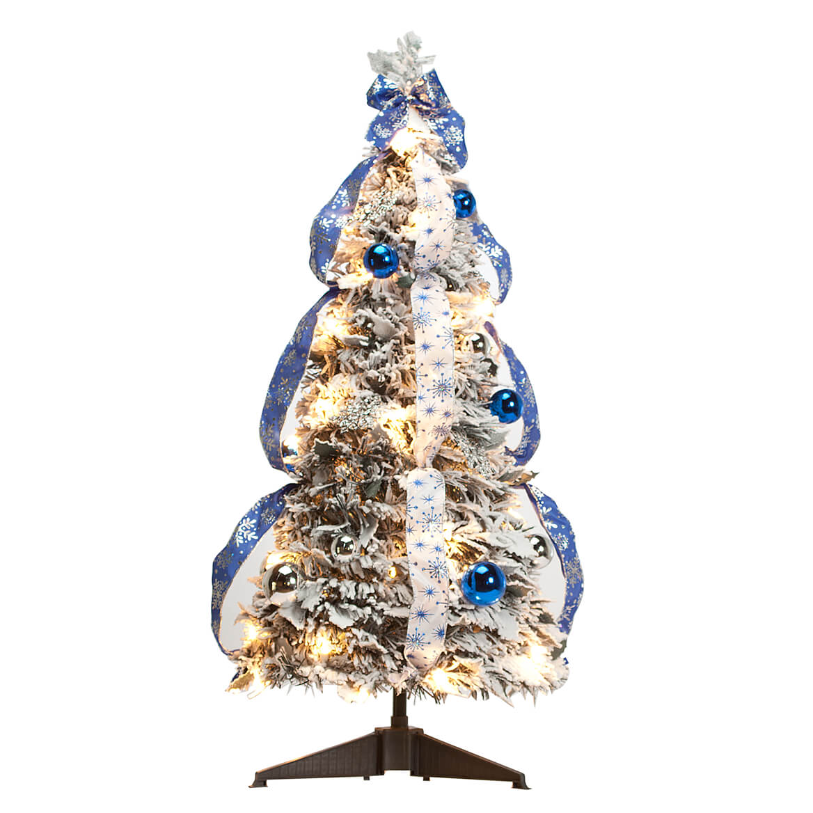 Pull up christmas tree reviews - 3 Snow Frosted Spruce Prelit Pull Up Tree By Northwoods