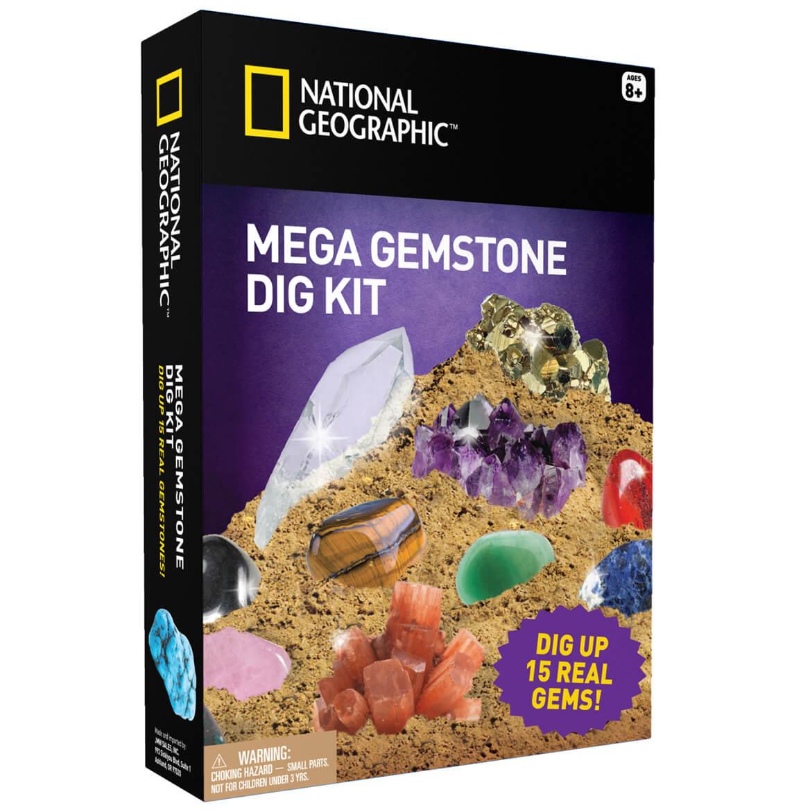 national geographic mega gemstone mine dig kit kimball
