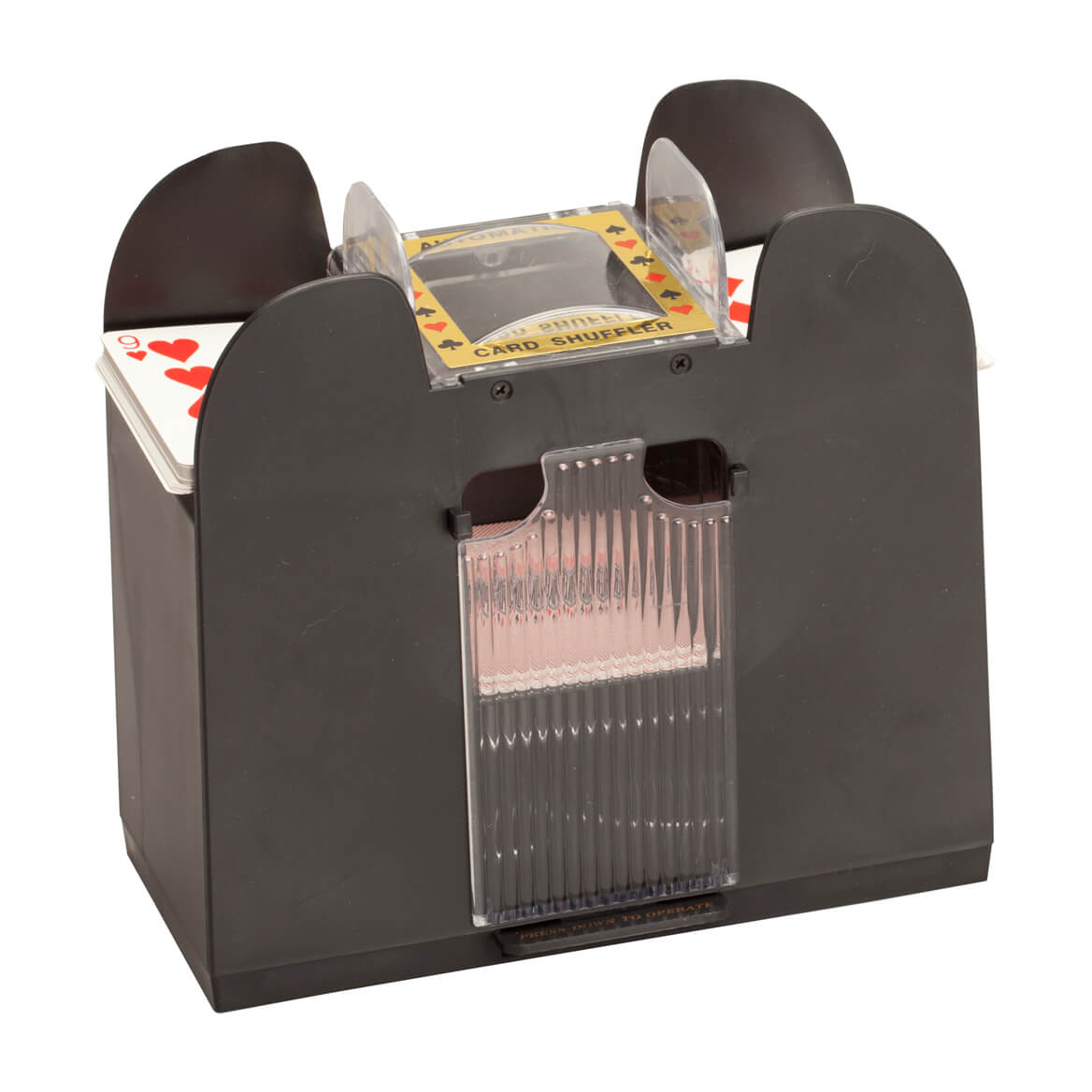6 deck card shuffler machine