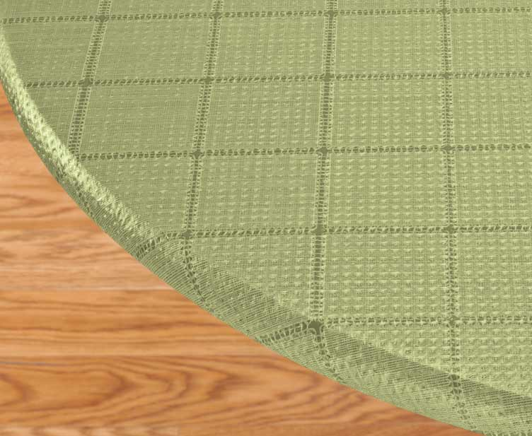 Woven Lattice Vinyl Elasticized Table Cover Celery 42 Quot X