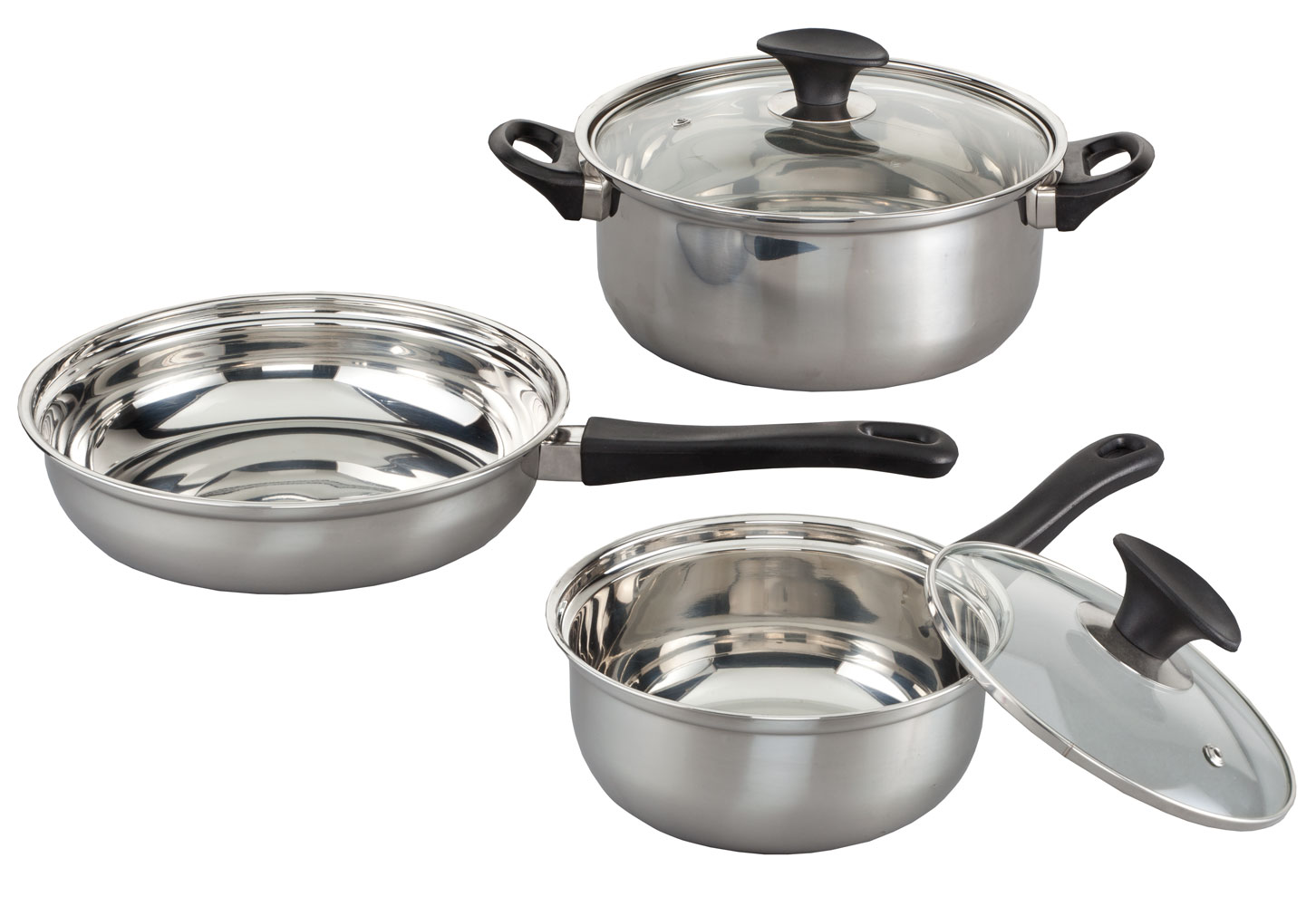 5 Pc Stainless Steel Cookware Set