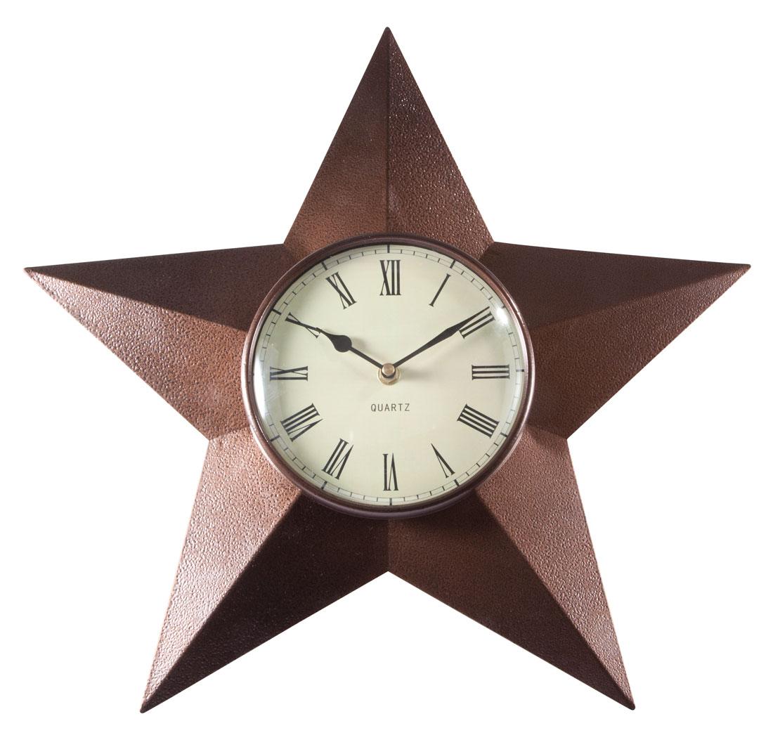 Barn Star Clock